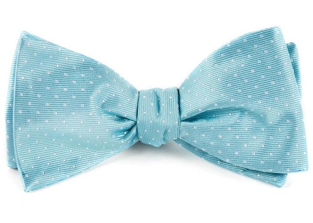 Mini Dots Pool Blue Bow Tie