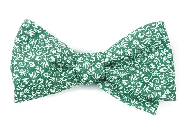 Habitat Bloom Clover Green Bow Tie