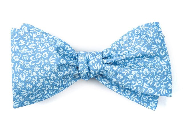 Habitat Bloom Light Blue Bow Tie