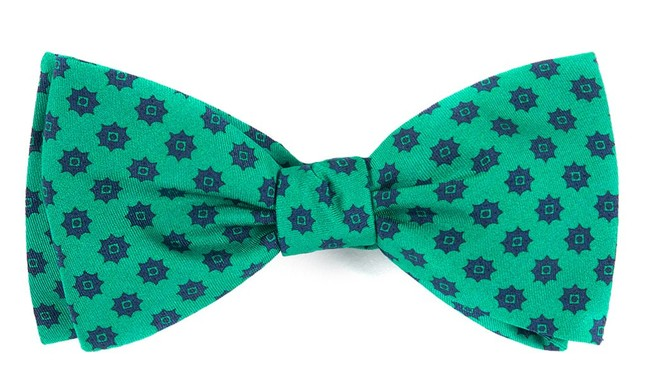 Major Star Emerald Green Bow Tie