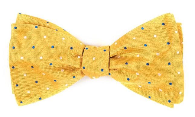 Jpl Dots Yellow Bow Tie