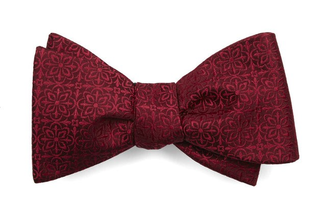 Opulent Red Bow Tie