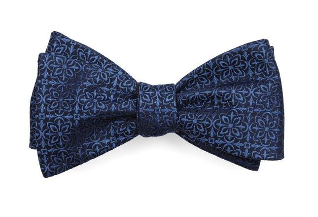 Opulent Classic Blue Bow Tie