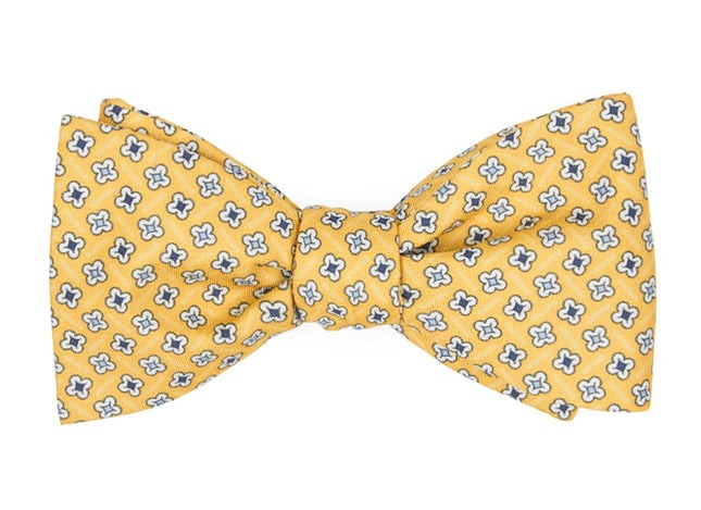 Spinner Yellow Bow Tie