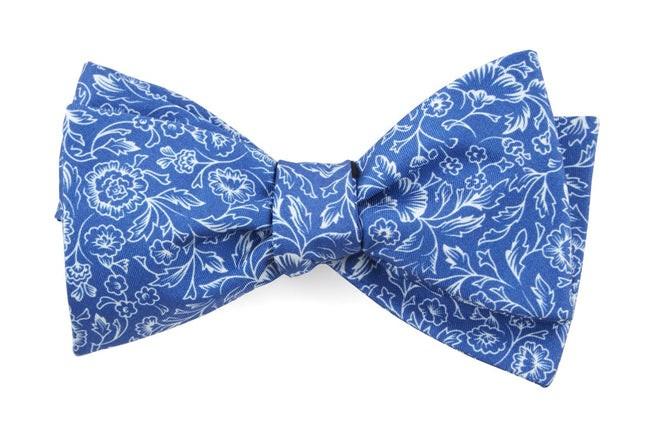 Bracken Blossom Royal Blue Bow Tie