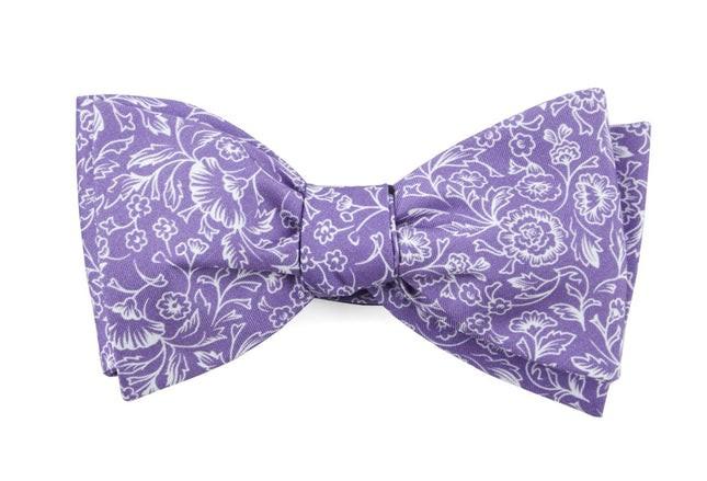 Bracken Blossom Wisteria Bow Tie