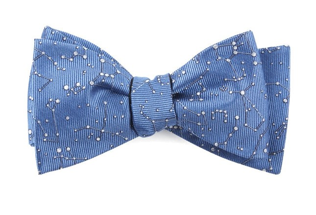 Constellation Space Blue Bow Tie