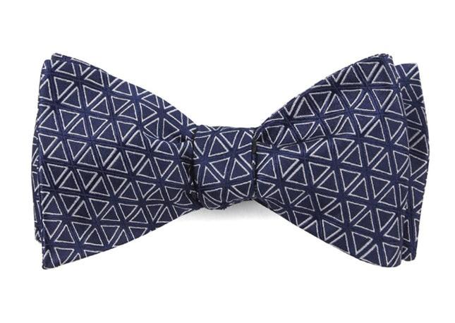 Triad Navy Bow Tie