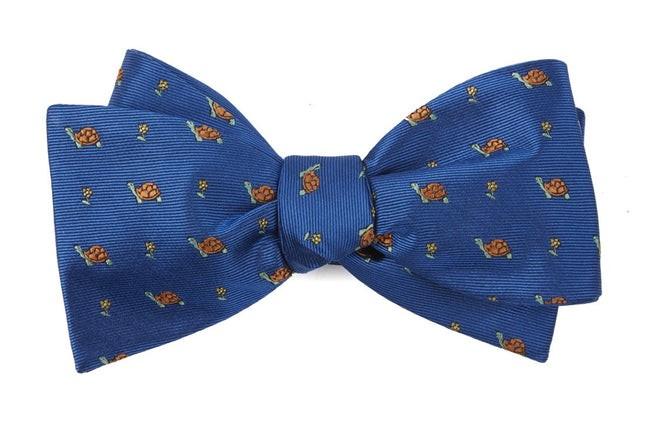 Turtle Island Royal Blue Bow Tie