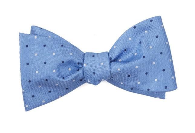 Jpl Dots Light Blue Bow Tie