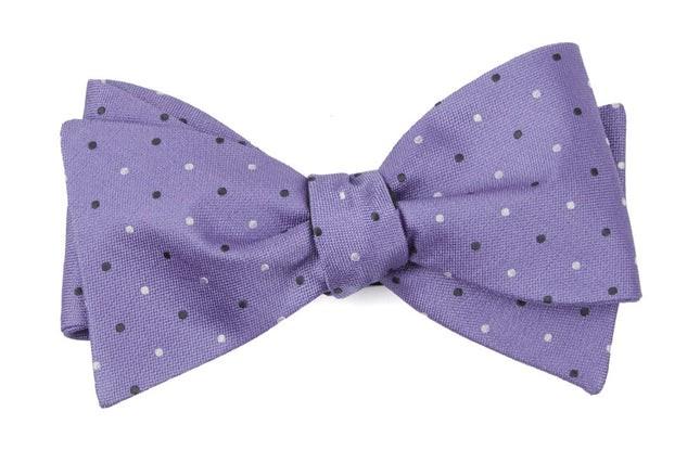 Jpl Dots Lavender Bow Tie