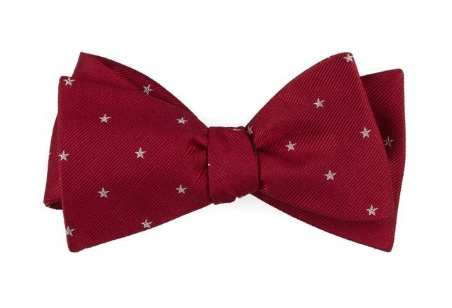Statesman Stars Red Bow Tie