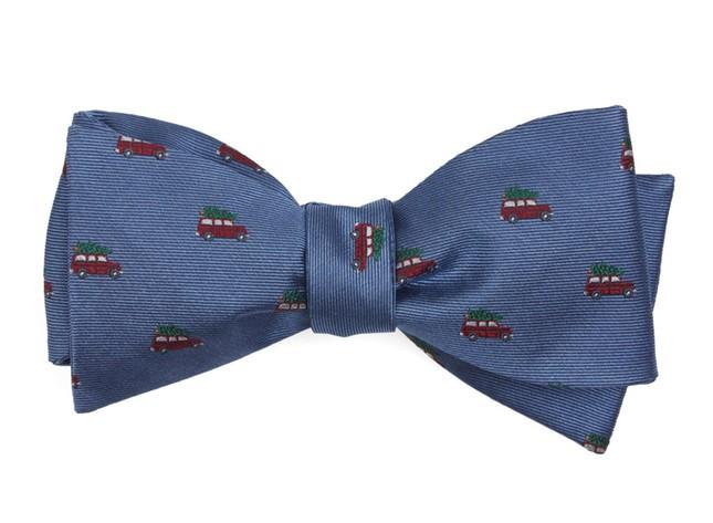 Christmas Vacation Light Blue Bow Tie