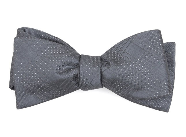 City Block Silver Bow Tie