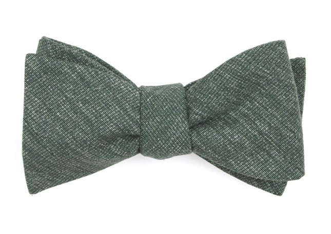 West Ridge Solid Hunter Green Bow Tie