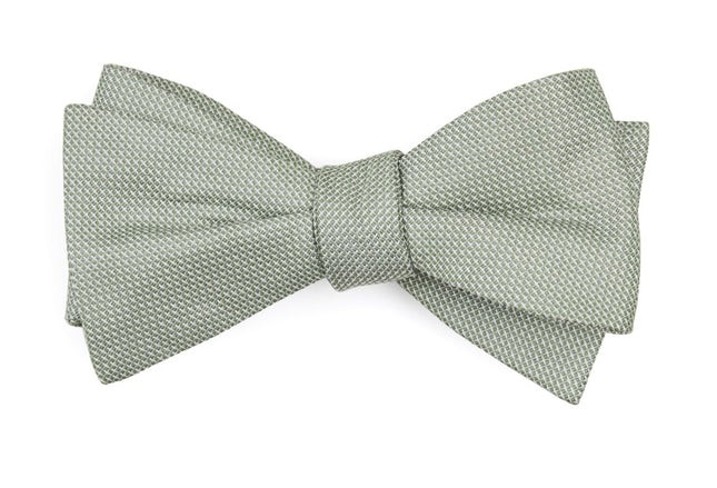 Union Solid Sage Green Bow Tie