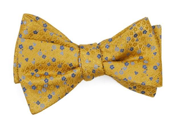Flower Fields Yellow Bow Tie