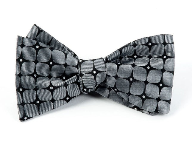 The Boutonniere By Dwyane Wade Charcoal Bow Tie