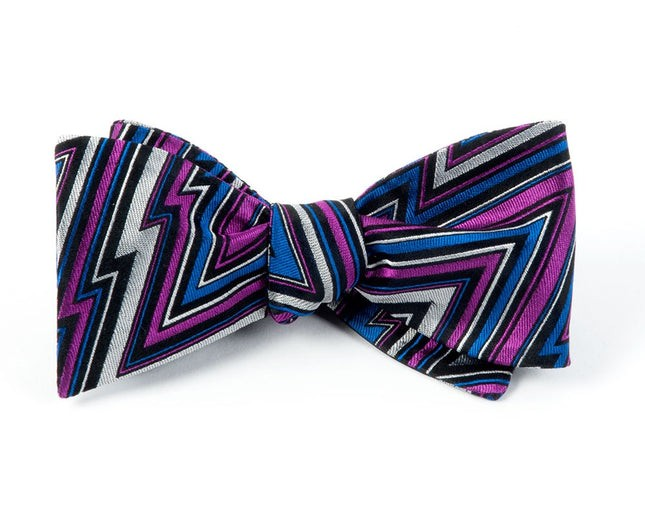Technicolor Chevron By Dwyane Wade Azalea Bow Tie