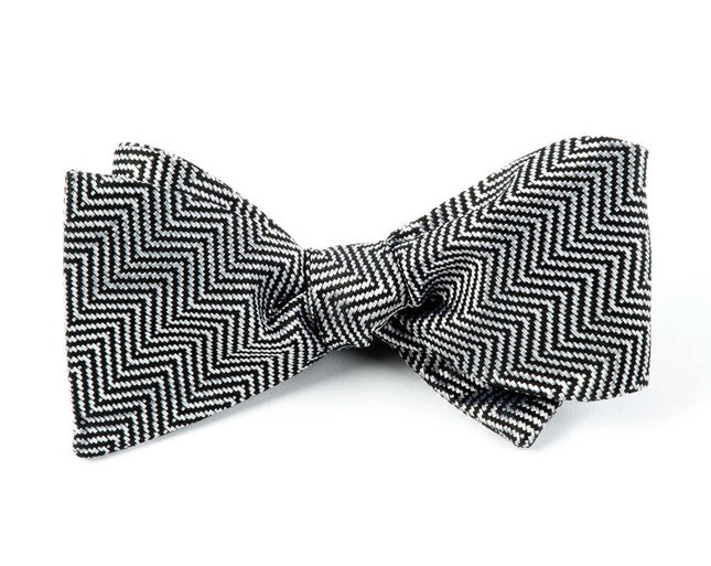 The Confidential By Dwyane Wade Black Bow Tie
