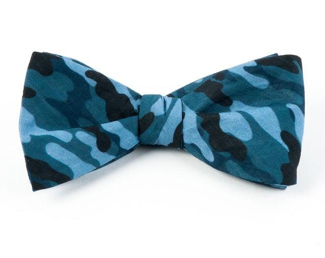 Foxhound Camo By Dwyane Wade Blues Bow Tie