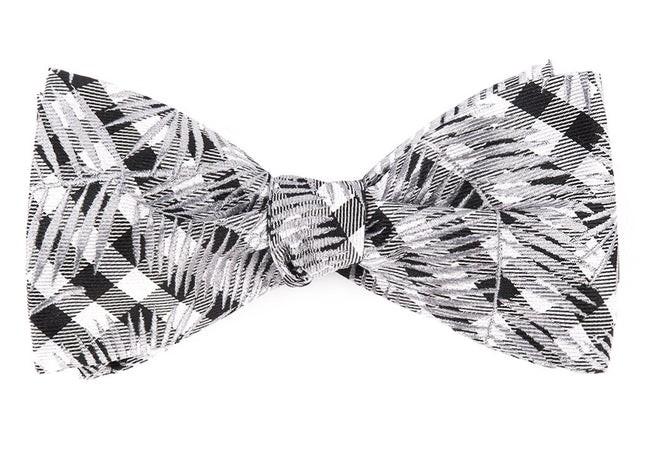 Longboard Palms By Dwyane Wade Silver Bow Tie