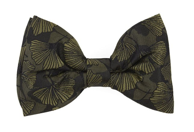 Palm Fronday By Dwyane Wade Army Green Bow Tie