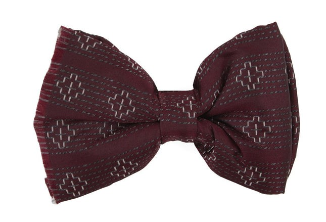 Native Thread By Dwyane Wade Burgundy Bow Tie