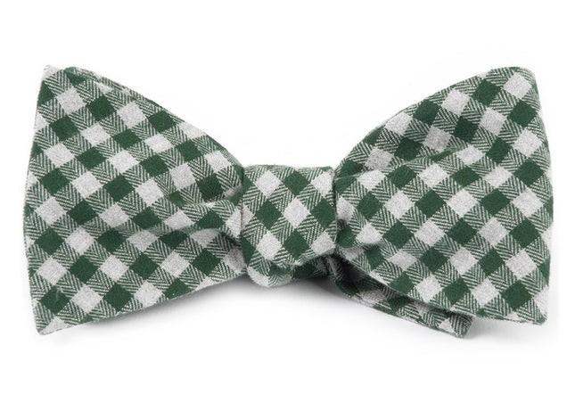 Stein Checks Green Bow Tie