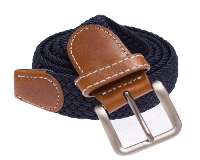 Braided Classic Navy Belt