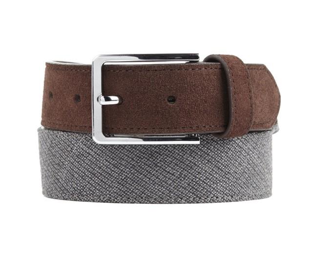 Business Solid Grey Belt