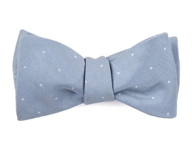 Bulletin Dot Slate Blue Bow Tie