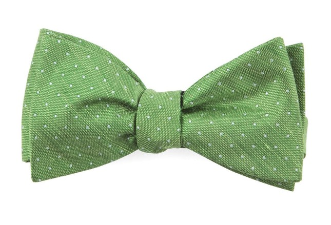 Rivington Dots Apple Green Bow Tie
