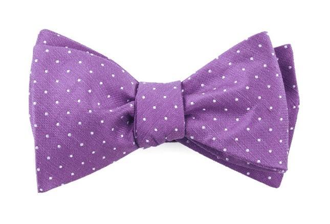 Rivington Dots Wisteria Bow Tie