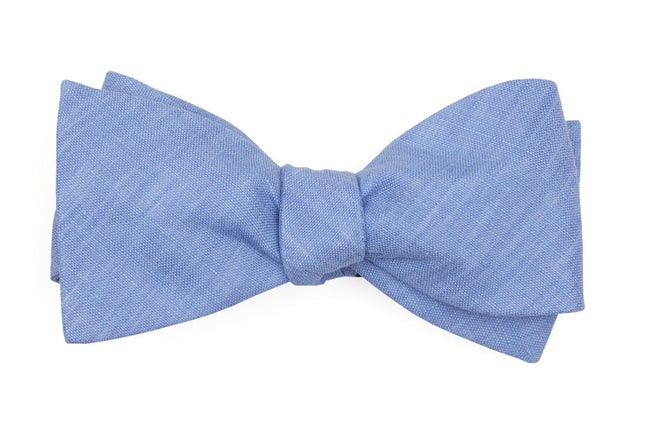 South End Solid Periwinkle Bow Tie