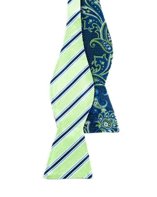 Bella Pin Navy Bow Tie