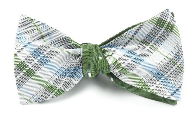 Legacy Ringside Silver Bow Tie