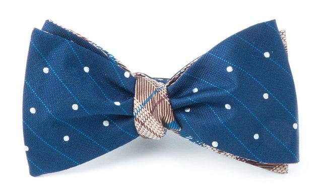 Ringside Legacy Navy Bow Tie