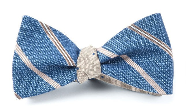 Editor Bulletin Taupe Bow Tie