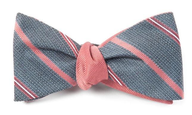 Editor Solid Marsala Bow Tie