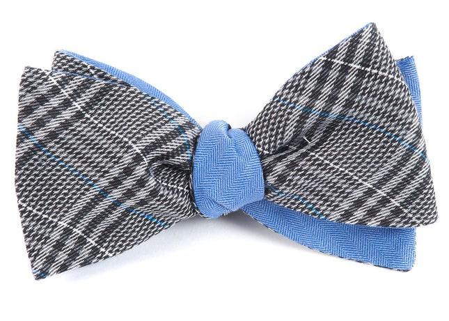 Columbus Row Grey Bow Tie