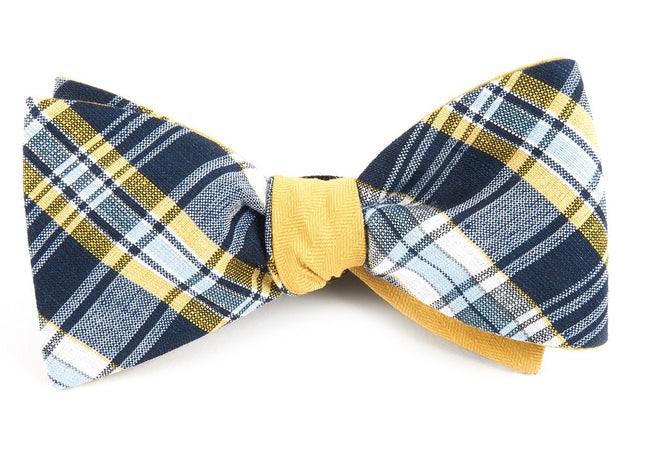 Rnr Row Navy Bow Tie