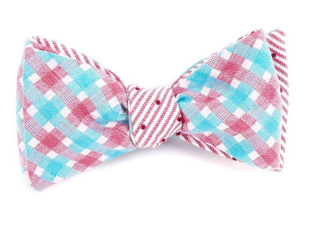 Bliss Dots Red Bow Tie