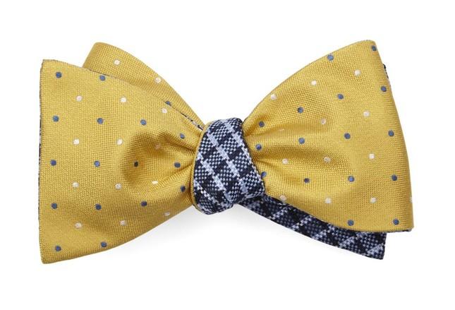 Jpl Checks Yellow Bow Tie