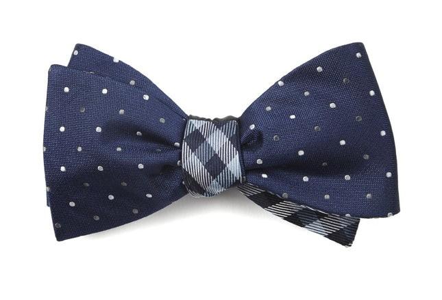 Jpl Polo Navy Bow Tie