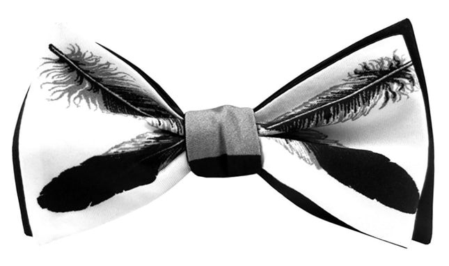 The Patricia Michaels Cream Bow Tie