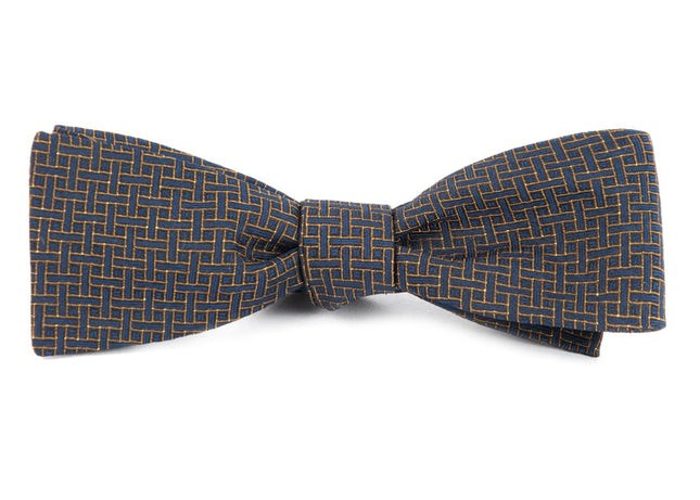 The Tracy Navy Bow Tie