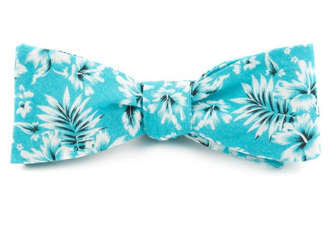 The Saratoga Pool Blue Bow Tie
