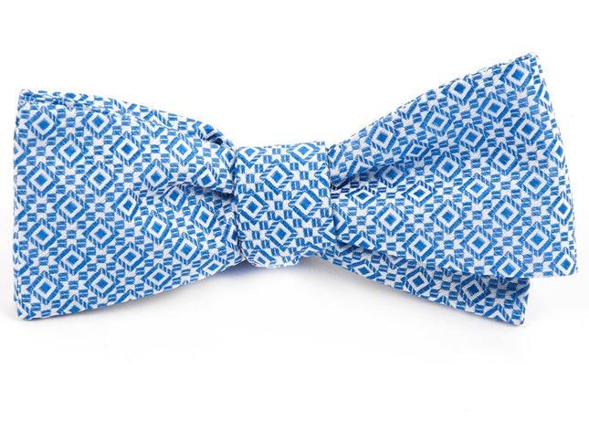 The Cubano Royal Blue Bow Tie