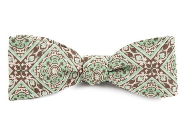 The Mojito Mint Bow Tie